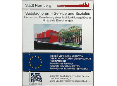 Baumaßnahmen-Suedstadtforum-Siebenkeesstraße-Bautafel-01