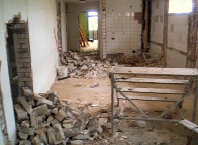Ein Großteil der Innenräume wurde entkernt und neu aufgeteilt