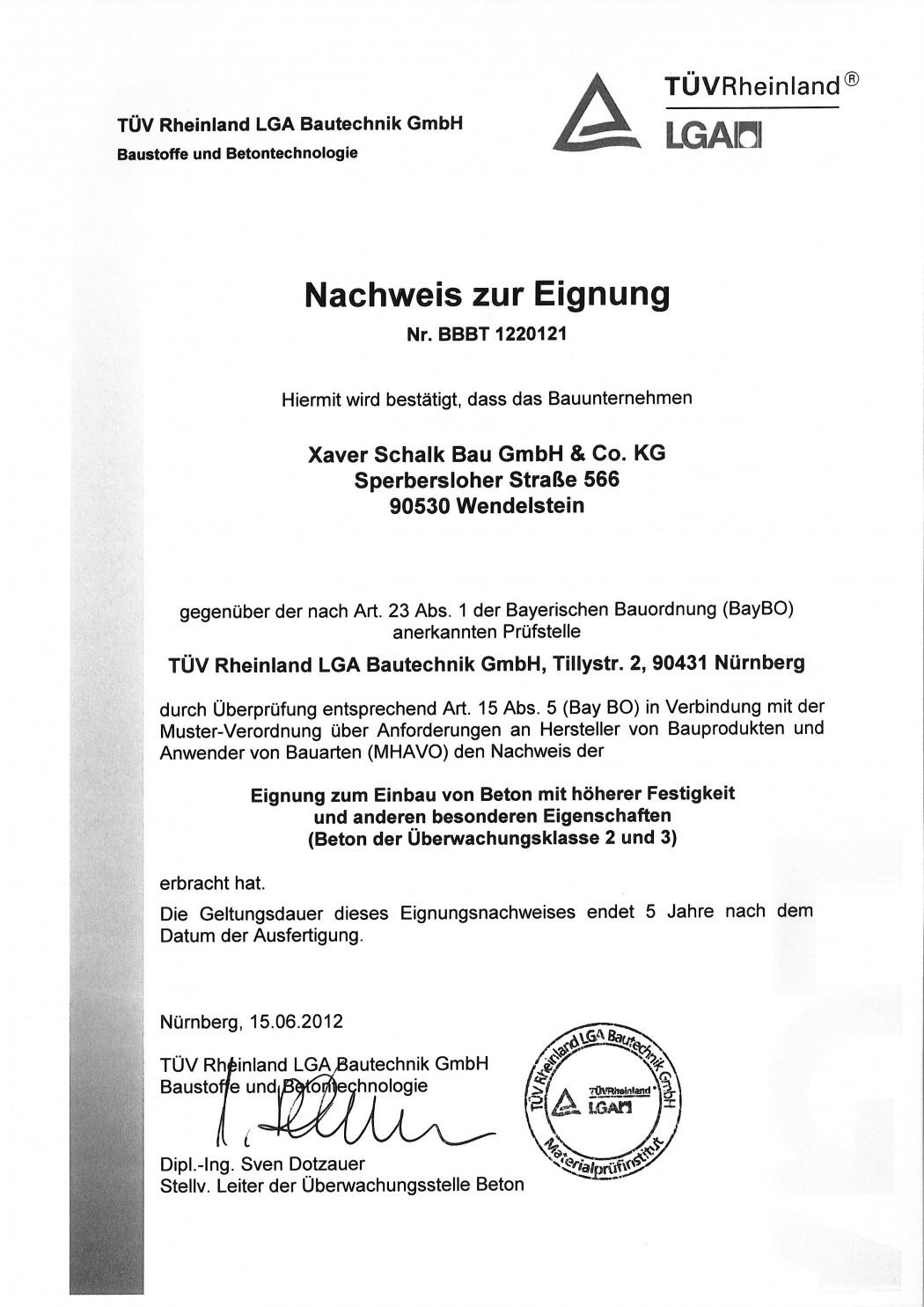 Nachweis Eignung ÜK 2_2012_06_15